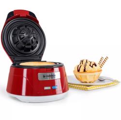 Máquina de Waffle Cadence Bowl Cestinha 750W Vermelho 110V WAF101-127