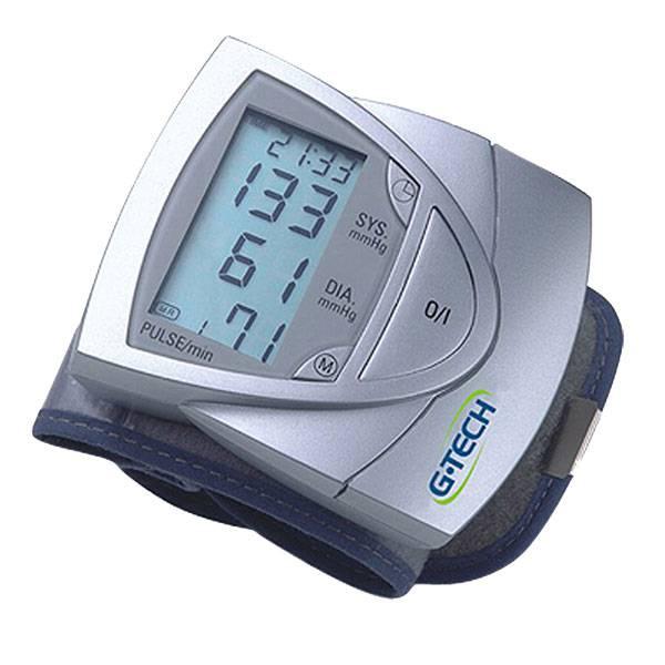 Medidor de Pressão G-Tech Pulso com Relógio BP3AF1-3