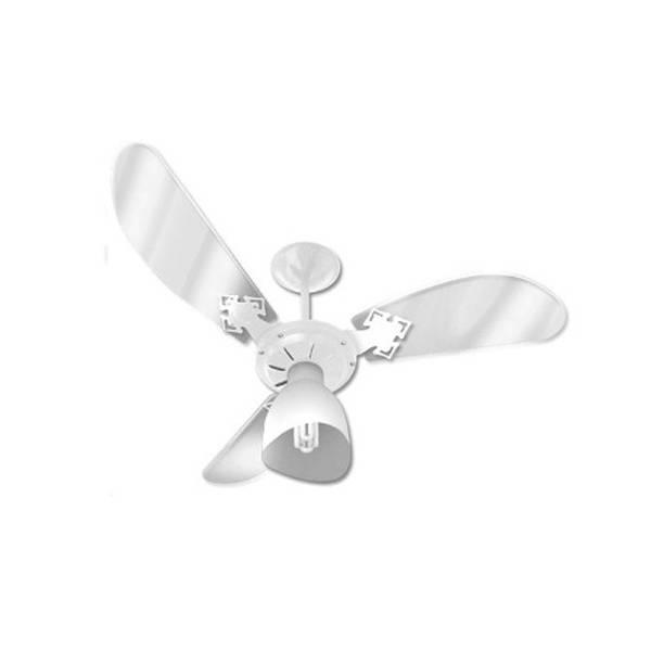 Ventilador de Teto Venti-Delta New Cristal Light Branco 110V