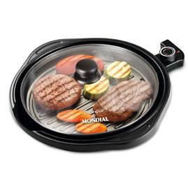 Grill Mondial Smart Redondo 1200W Preto 110V       G-04