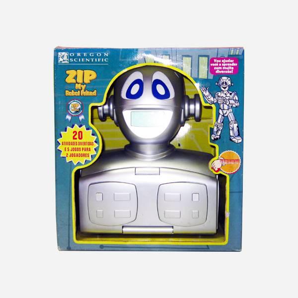 Zip my Robot Friend - 20 Atividades - Oregon 4891475006088
