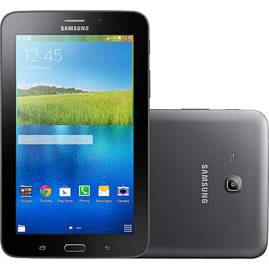 "Tablet Samsung Galaxy Tab E Quad Core 1.3GHz Câm.2MP 8GB 7"" Preto SM-T116B"