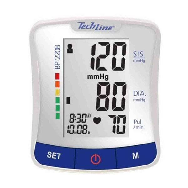 Foto 1 - Monitor de Pressão Arterial Techline Digital Automático Pulso BP-2208