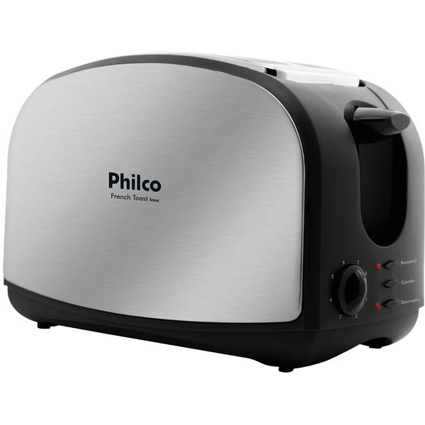 Torradeira Philco French Toast 900W Inox 220V       056202010