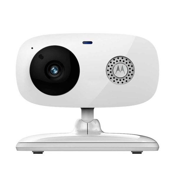 Câmera de Vídeo Motorola Wi-Fi com Visão Noturna via Smartphone Branco FOCUS66