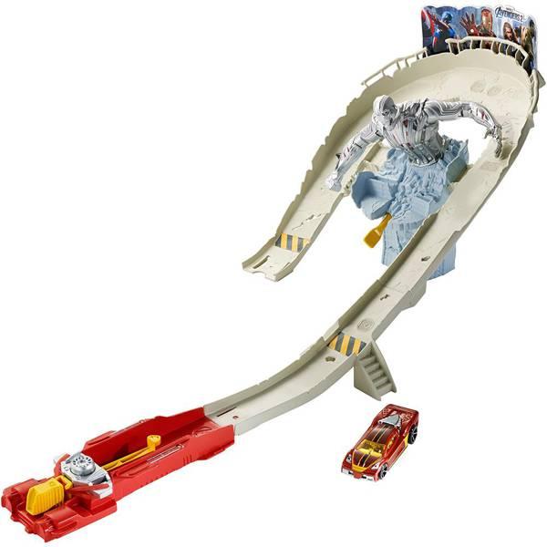 Pista Hot Wheels Vingadores 2 - Ataque Ultron - Mattel CDD27