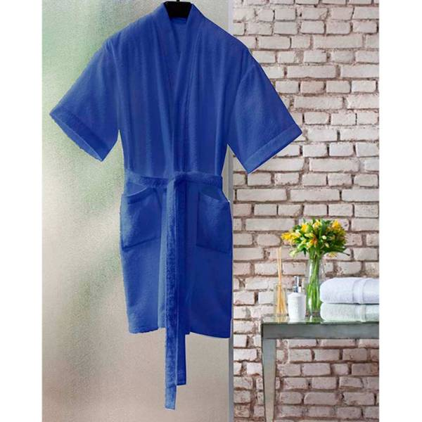 Roupão Santista Judoca Unissex Azul (Índigo) Tamanho M 7892949318994