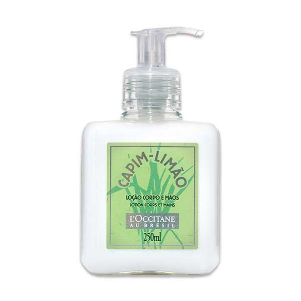 Loção Desodorante Corporal/Mãos Capim-Limão 250ml LOccitane Au Bresil
