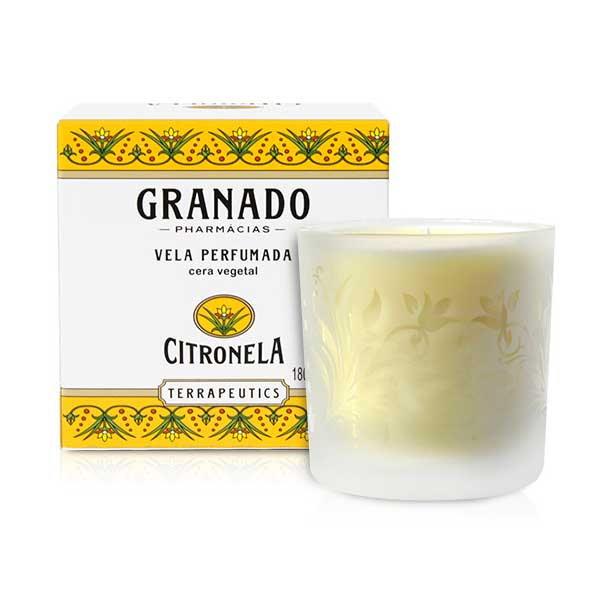 Vela Perfumada Terrapeutics Citronela 180g - Granado