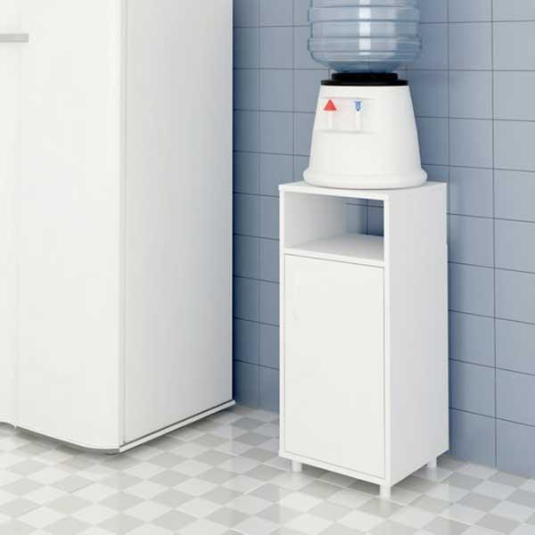 Gabinete para Filtro de Água Branco - Multivisão GABI AS610