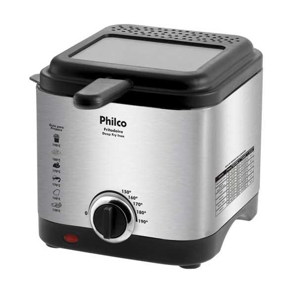 Fritadeira Elétrica Philco Deep Fry Inox 900W 1,8L 110V 053801033