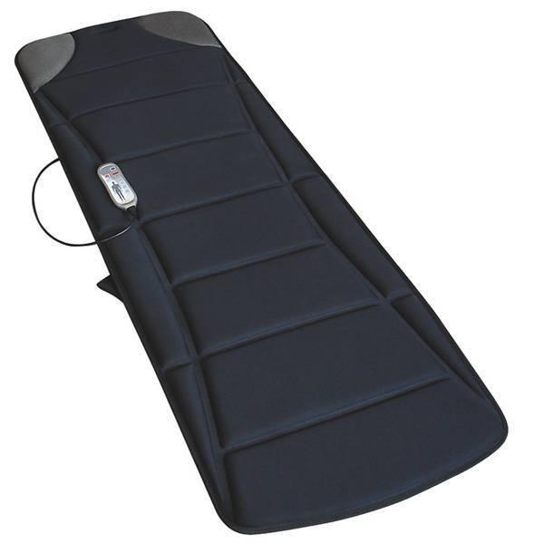 Esteira Massageadora Relax Medic c/ Caixas de Som e Conexão p/ MP3 Preto 110V  ...