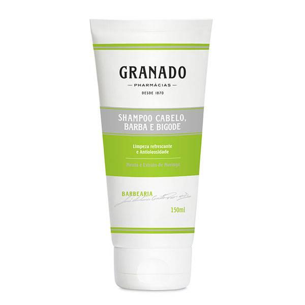 Shampoo Cabelo, Barba e Bigode - Linha Barbearia - Granado