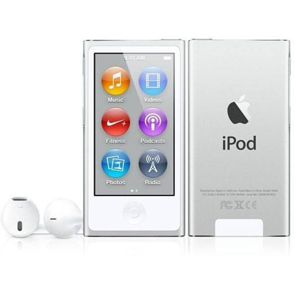 iPod nano 8ª Ger. 16GB  White/Silver - Apple MKN22BZ/A