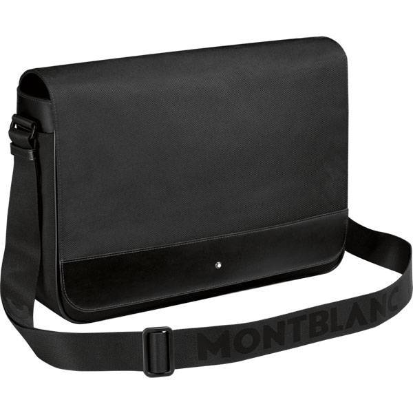 Bolsa Carteiro MontBlanc Nightflight Preto 113135