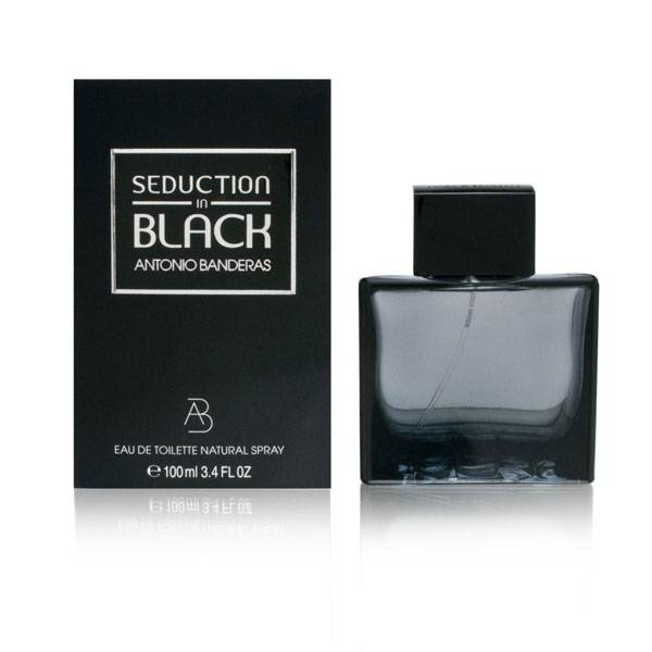Perfume Seduction In Black EDT Masculino 100ml - Antonio Banderas 8411061695951