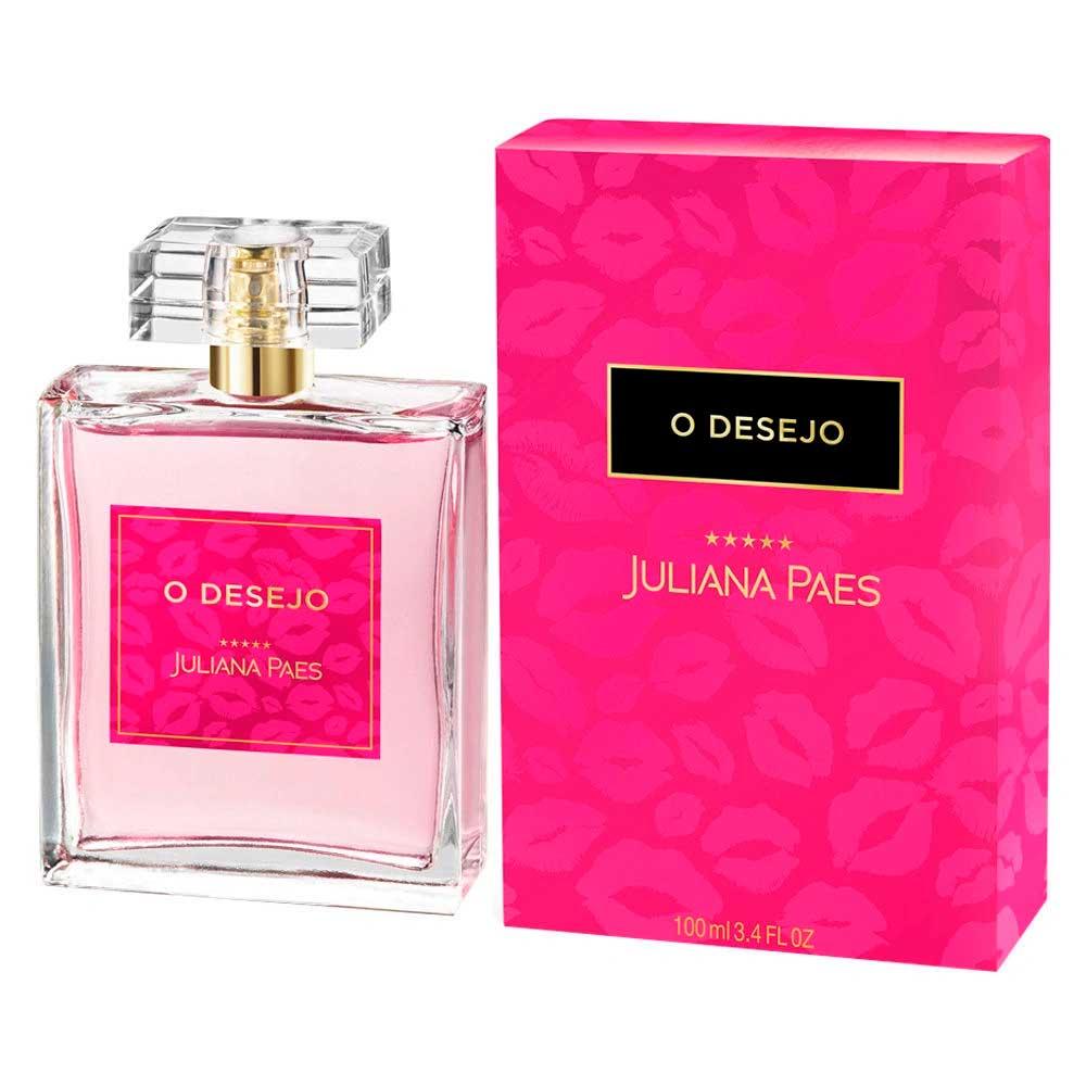 Perfume O Desejo Deo Colônia 100ml - Juliana Paes