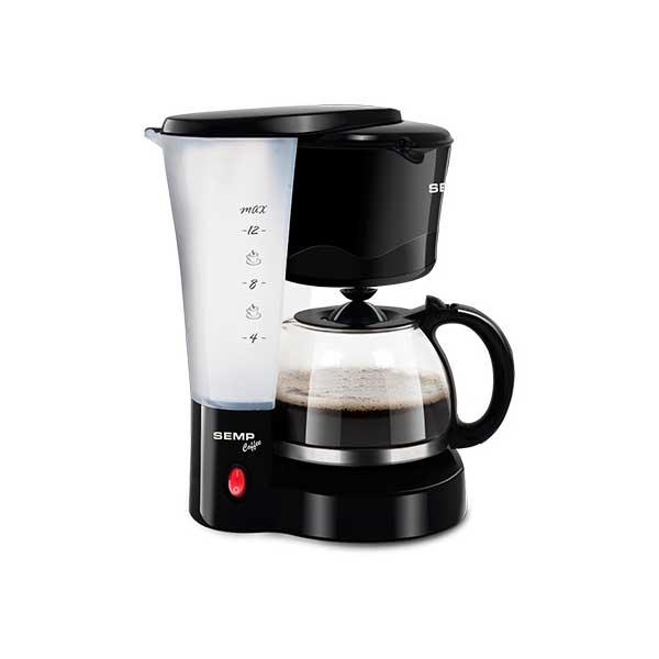 Cafeteira Elétrica Semp Coffee 12 Xíc. 550W Preto 110V CF3015PR