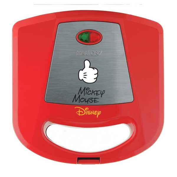 Sanduicheira Mallory Disney Mickey Mouse 750W Vermelho 110V       B96800691