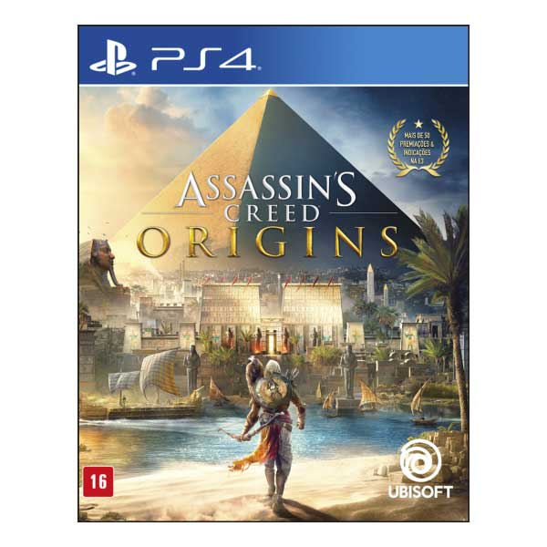 Jogo Assassin's Creed Origins Ed. Ltd. - PS4  Ubisoft 0887256032456