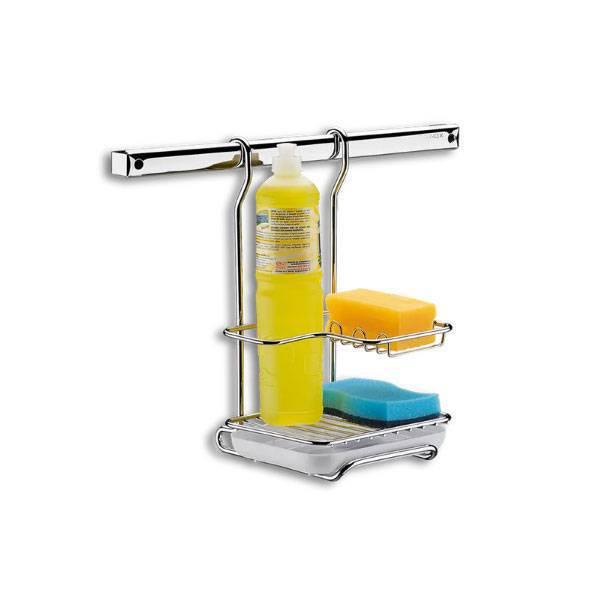 Suporte para Sabão em Pó, Detergente e Esponja Brinox Pratic 2200/012