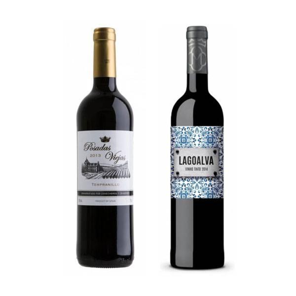 Vinho Posadas Viejas 750ml - Cosecheros y Criadores +  Vinho Lagoalva Tinto...