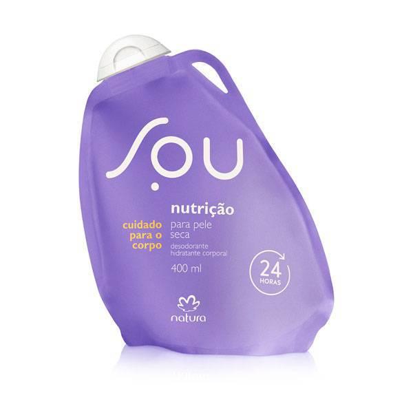Desodorante Hidratante Corporal Natura Pele Seca SOU 400ml 63902