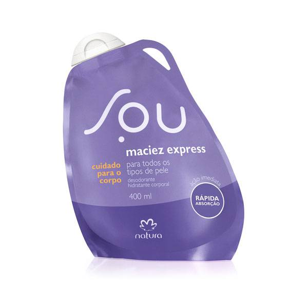 Desodorante Hidratante Corporal Natura Maciez Express SOU 400ml 78971