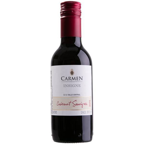 Vinho Viña Carmen Insigne Cabernet Sauvignon 2017 187 ml Chile 30873