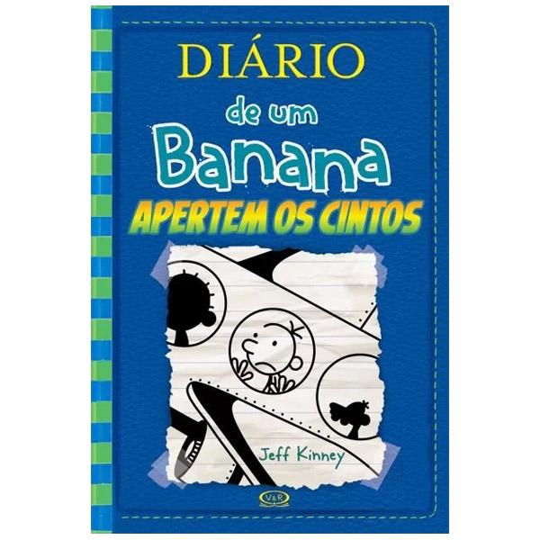 Livro: Diário de Um Banana 12 - Apertem Os Cintos  Vergara & Riba 9788550701448