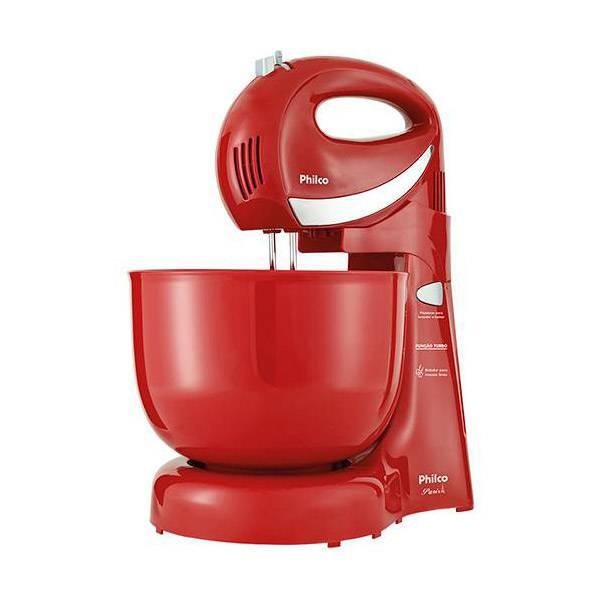 Batedeira Philco Paris 350W Vermelha 4L 110V       103401029