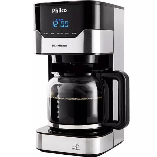 Cafeteira Elétrica Philco PCF38 Platinum Função Aroma 800W 110V       053902041