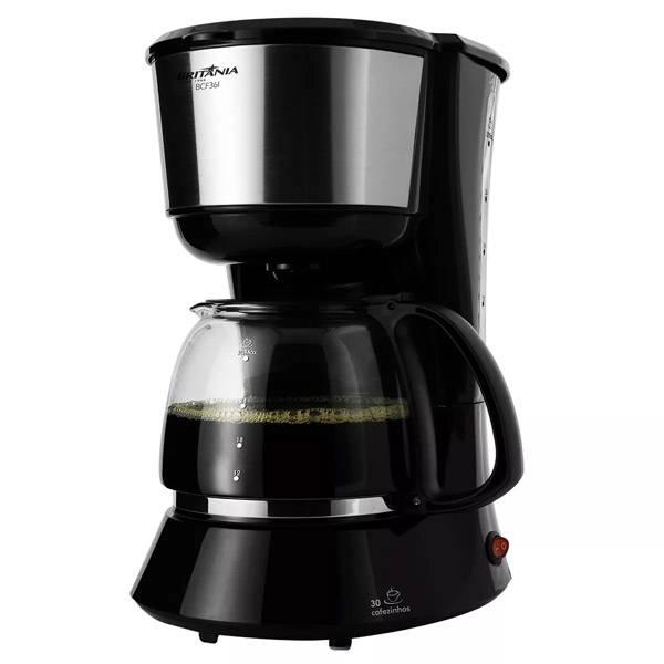 Cafeteira Elétrica Britânia BCF36I 750W Preto 30 Xíc. 220V       063902087