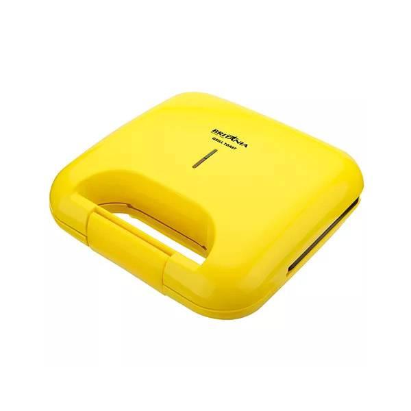 Grill Britânia Toast 2 Sanduiches Amarelo 110V       066701134