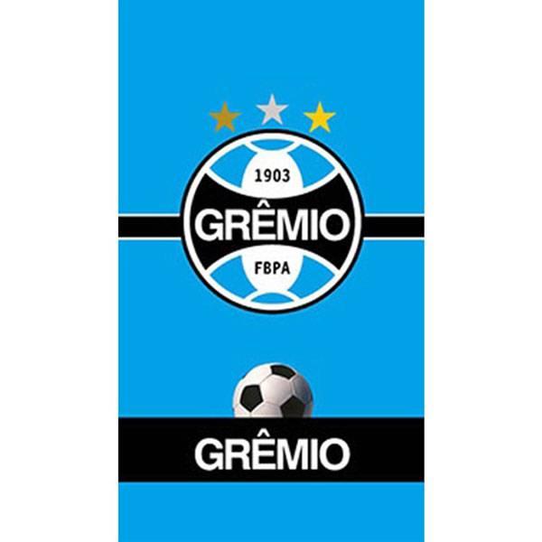 Toalha de Banho Bouton Grêmio Brasão Felpuda 70 x 130 cm 59310
