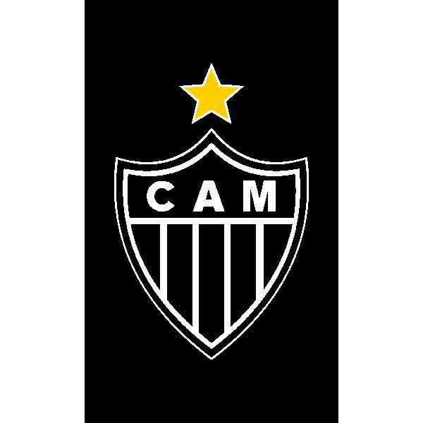 Toalha Social Bouton Atlético Mineiro Estampada 0,30 x 0,50 m 49911