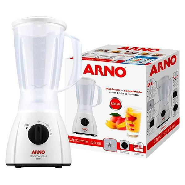 Liquidificador Arno Optimix Plus 2 Vel. 550W Branco 110V LN27