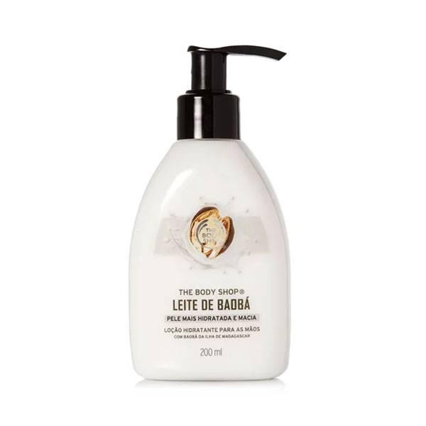Loção Hidratante para Mãos Leite De Baobá 250ml - The Body Shop 1092426