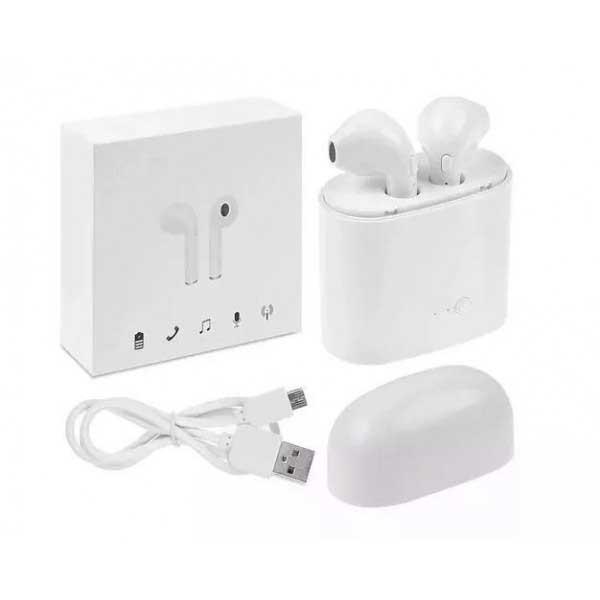 Fone de Ouvido Promus sem Fio Versão Bluetooth V4.2 + EDR Branco H1545