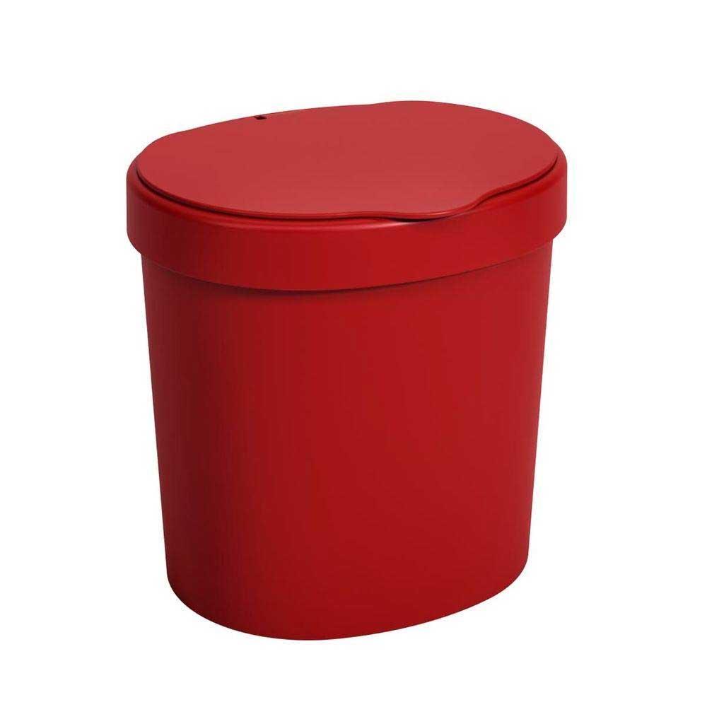 Lixeira R&J Coza Basci Vermelha 2,5L 10906 / 0465
