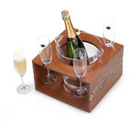 Kit Chandon Réserve Brut 750ml + Balde + Taças + S Quality Import 11228