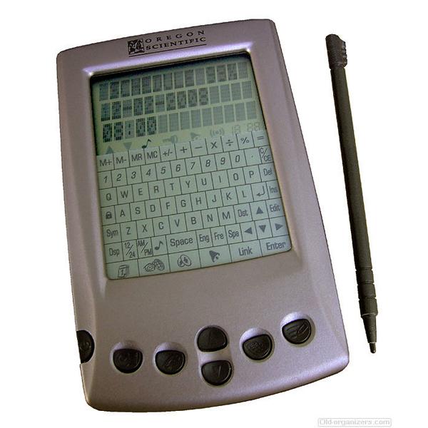 Organizer PDA - Assistente Pessoal Digital -  Oregon PDA188