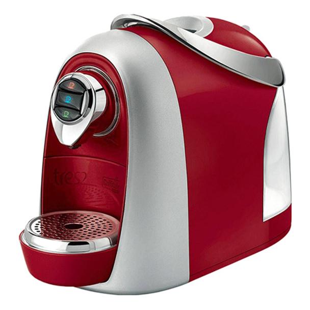 Máquina de Café Expresso Automática TRES Modo S04 Multibebidas - Vermelho