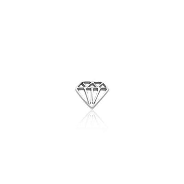 Pingente Vivara Diamante - Life Secrets - Prata EL00001947