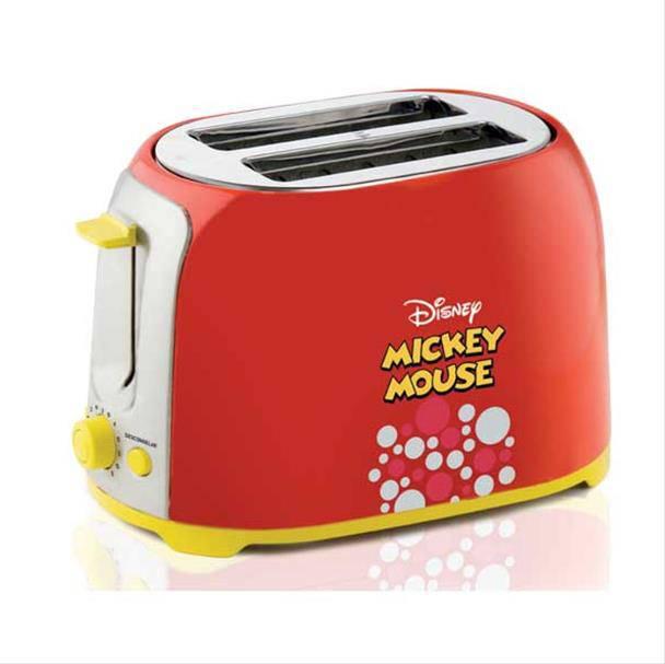 Torradeira Mallory Mickey Mouse 850W Vermelho 220V       B96000202