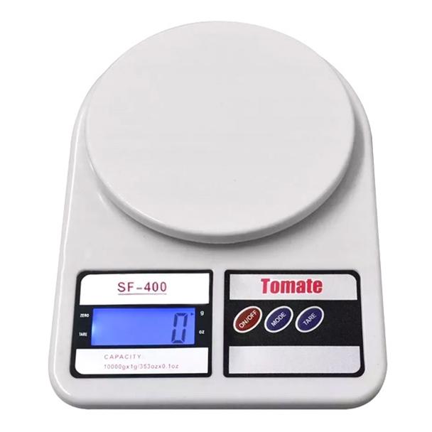 Balança digital de alta precisão Tomate 10Kg Branca SF400