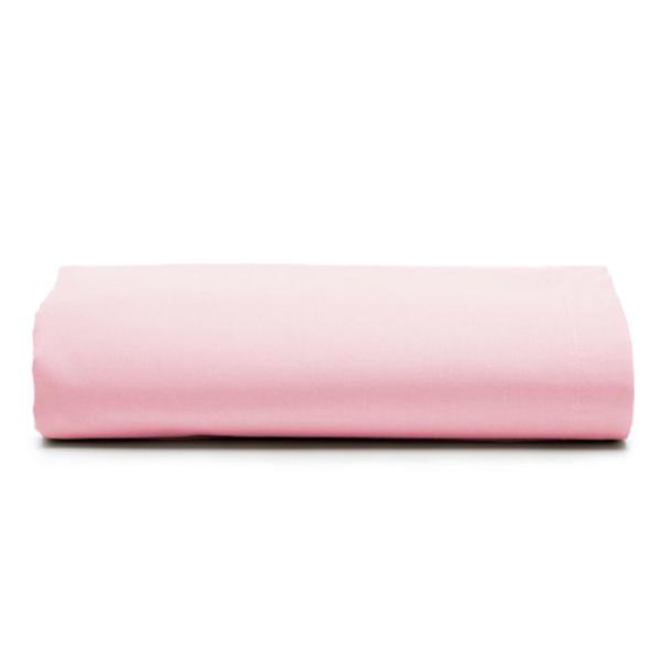 Lençol de Elástico Avulso Santista Linha Royal Rosa Casal