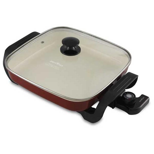Panela Elétrica Britânia BPE05V Super Chef Ceramic 1200W Vermelha 110V 66401133