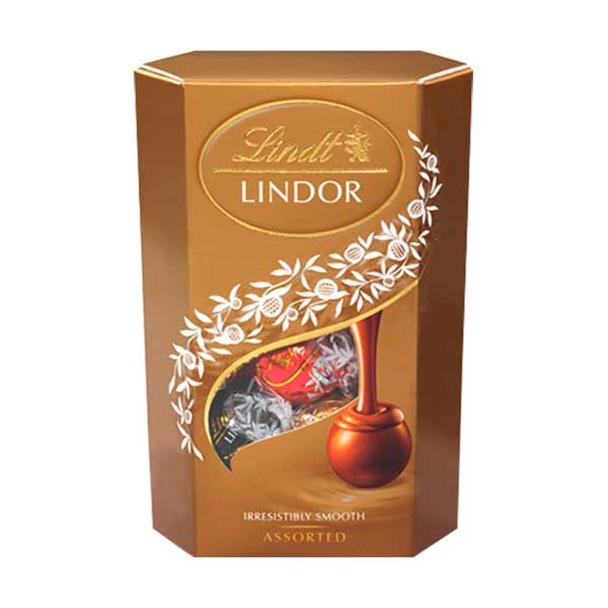 Caixa de Chocolate Suíço Lindor Sortidos 200g - Lindt 708806-0