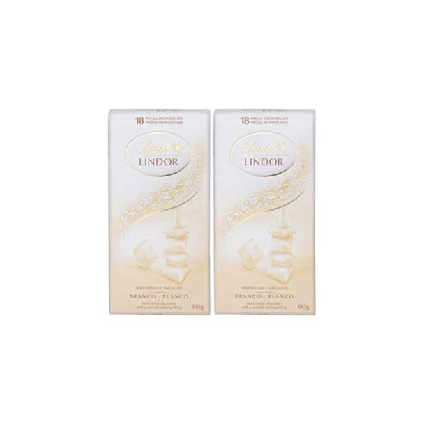 Chocolate Lindor White 100g 2 UNIDADES - Lindt